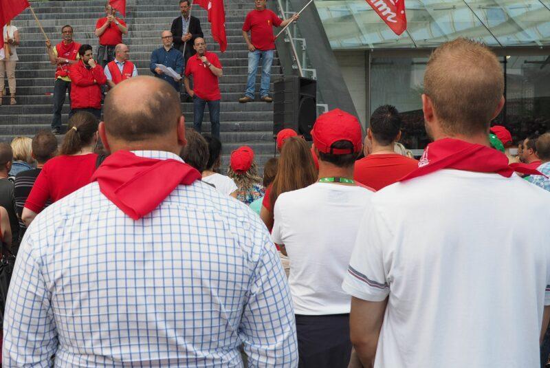 Les syndicalistes de la FGTB condamnés pour le blocage du viaduc de Cheratte; ils font appel