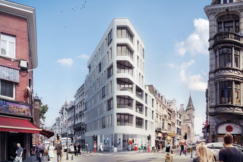 Permis accordé pour le nouvel immeuble de 6 étages au coin des rues Cathédrale et de la Régence