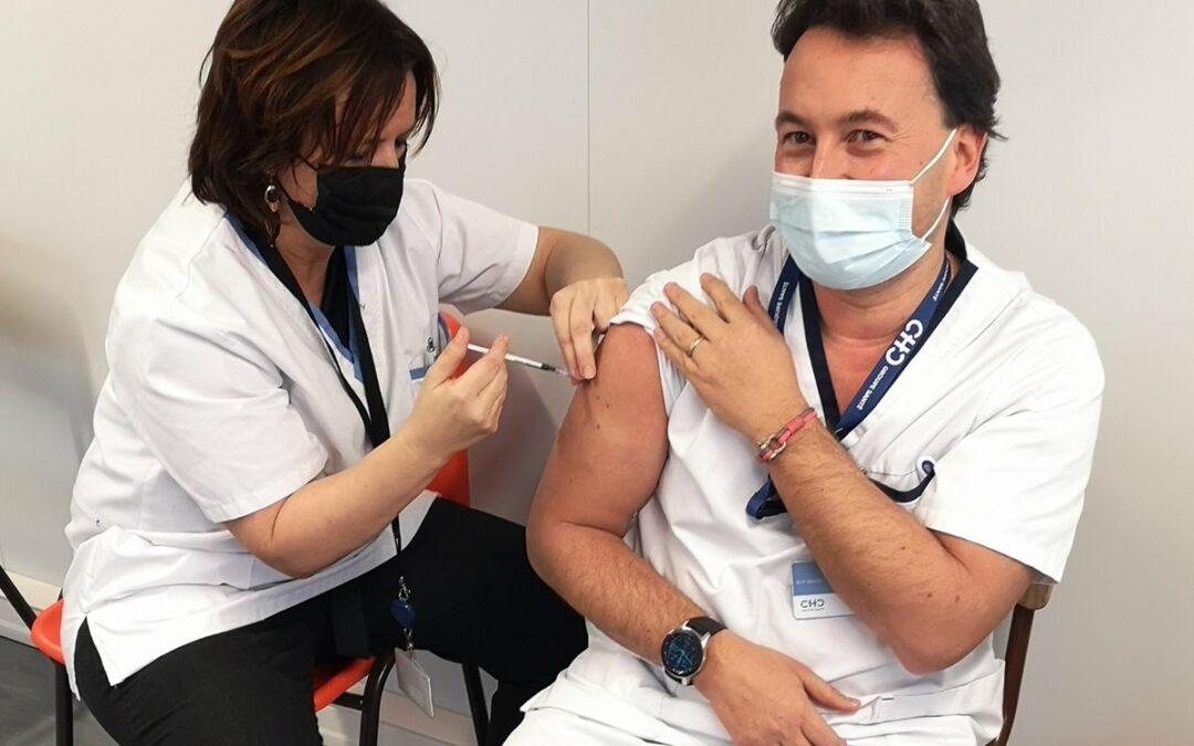 Le docteur Philippe Devos s'est fait vacciner