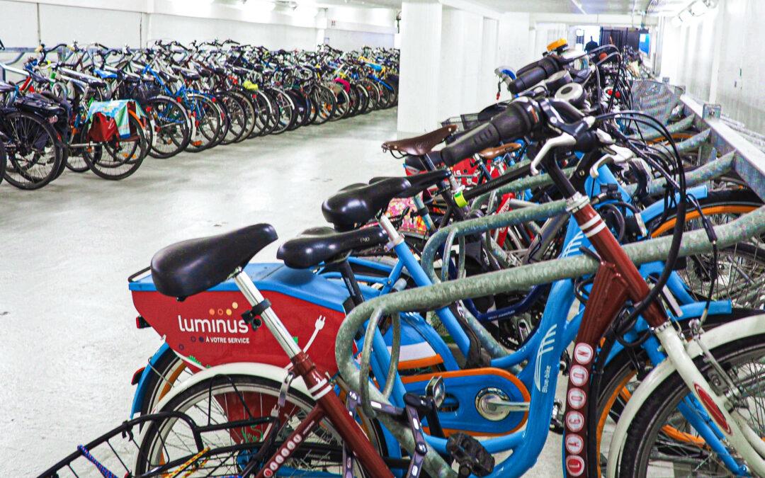 La Ville prévoit d'aménager un méga-parking vélos couvert et sécurisé au centre-ville