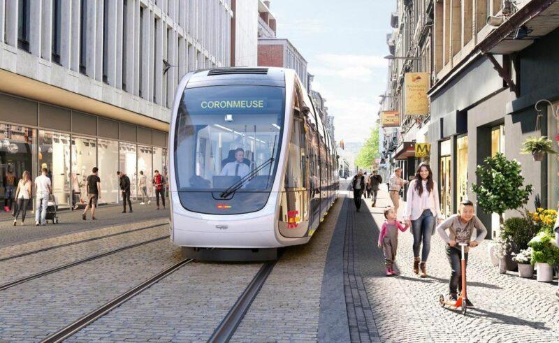 Les premiers rails du tram posés au centre-ville dans les prochains jours