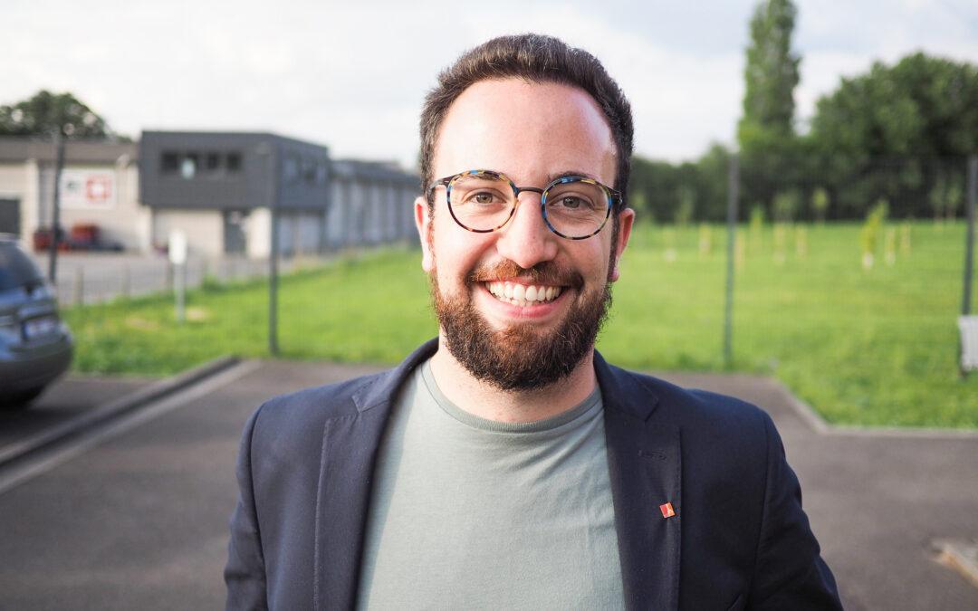 Benjamin Bodson nouveau chef de groupe cdH au conseil communal