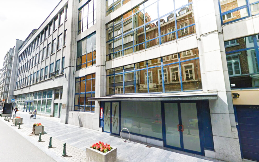 135 kots dans l'ex-bâtiment Belgacom rue de l'Université