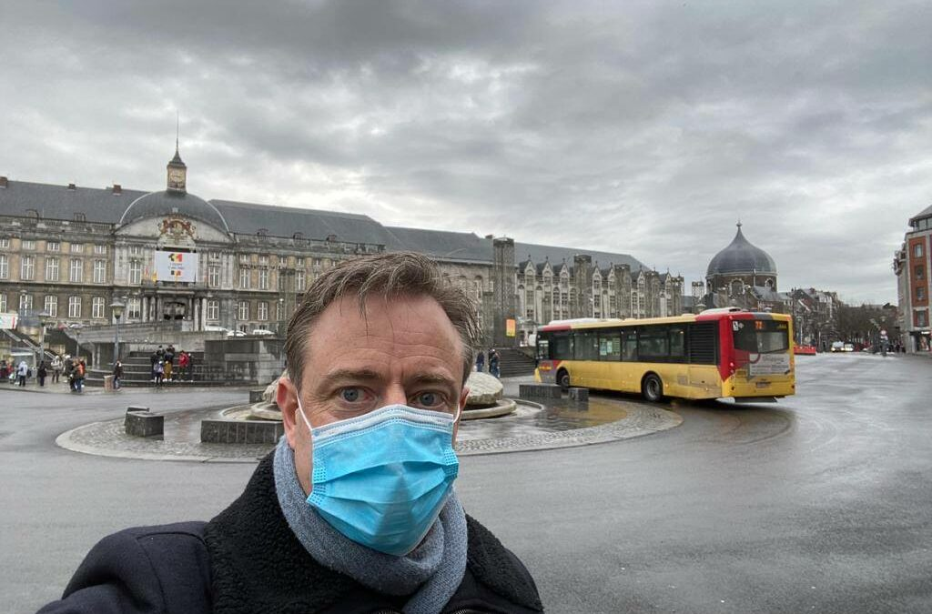 """Bart De Wever en visite à Liège: """"Vive la Wallonie libre"""""""