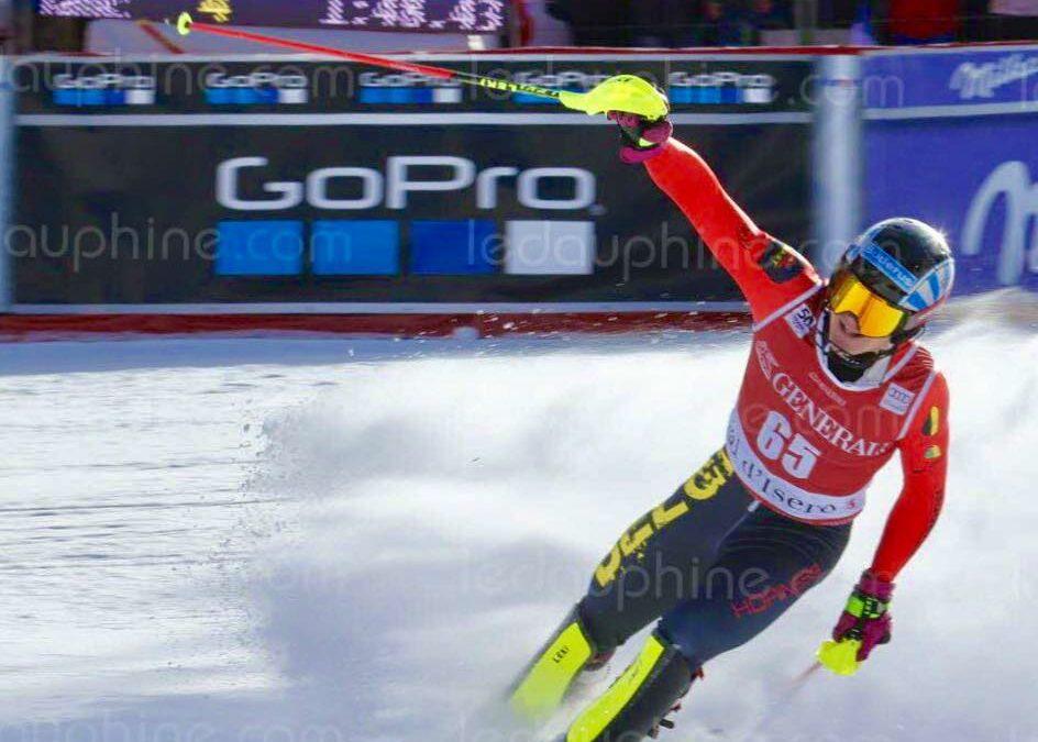 Armand Marchant finit 10e du slalom des Mondiaux de Cortina d'Ampezzo