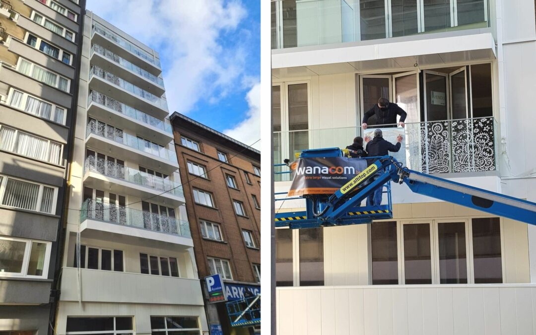 Le plus haut immeuble en bois du Benelux est achevé à Liège