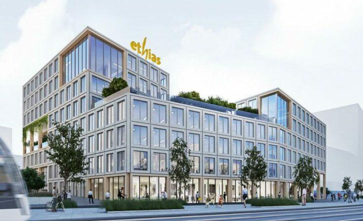 Ethias va quitter le centre-ville et s'installer dans le nouvel éco-quartier de Coronmeuse