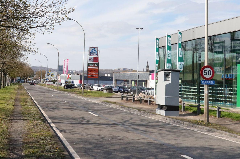 Le Lidar est actuellement situé boulevard de Froidmont