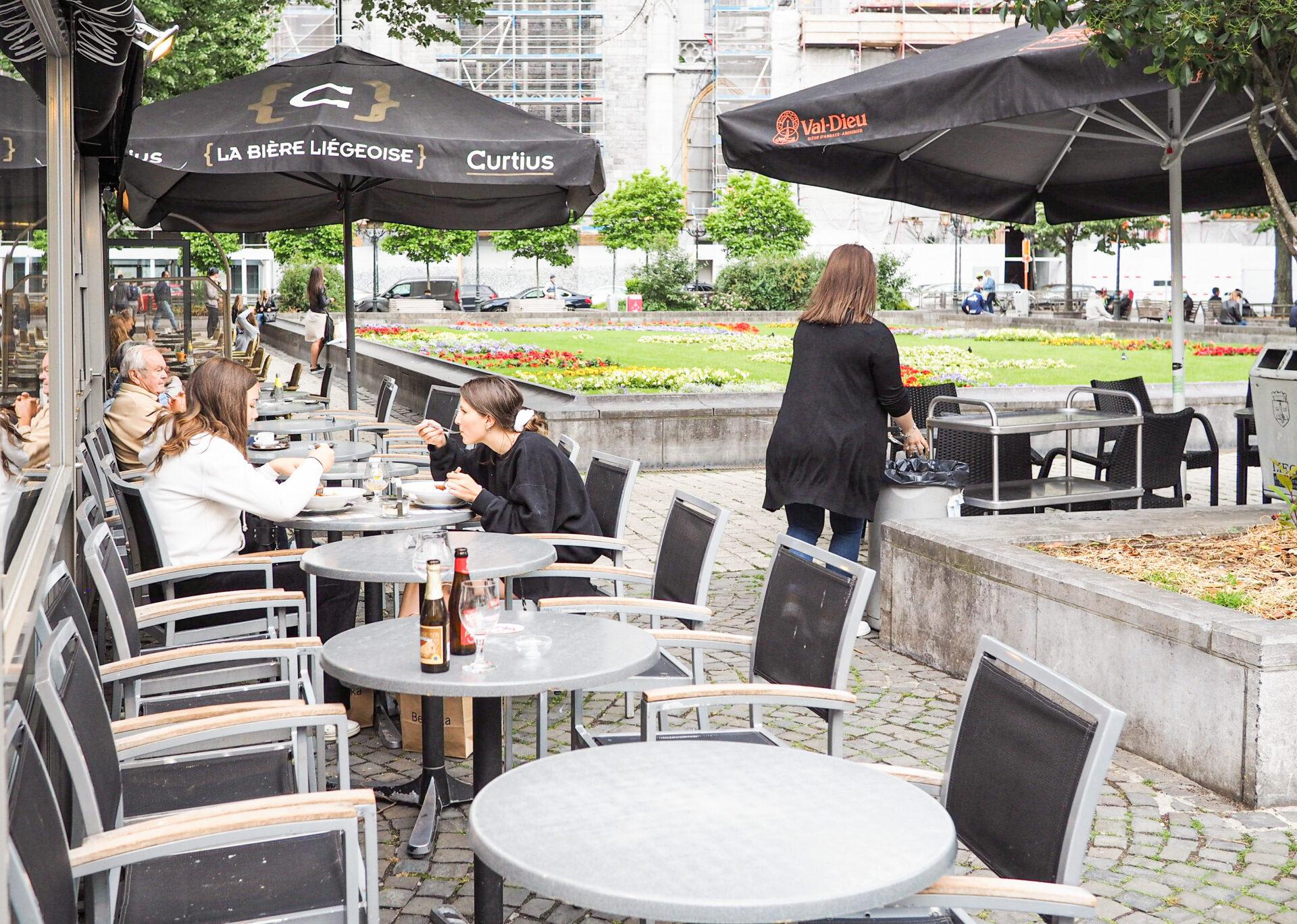 Le Gouverneur de Liège Hervé Jamar pousse pour une réouverture de l'Horeca le 1er mai