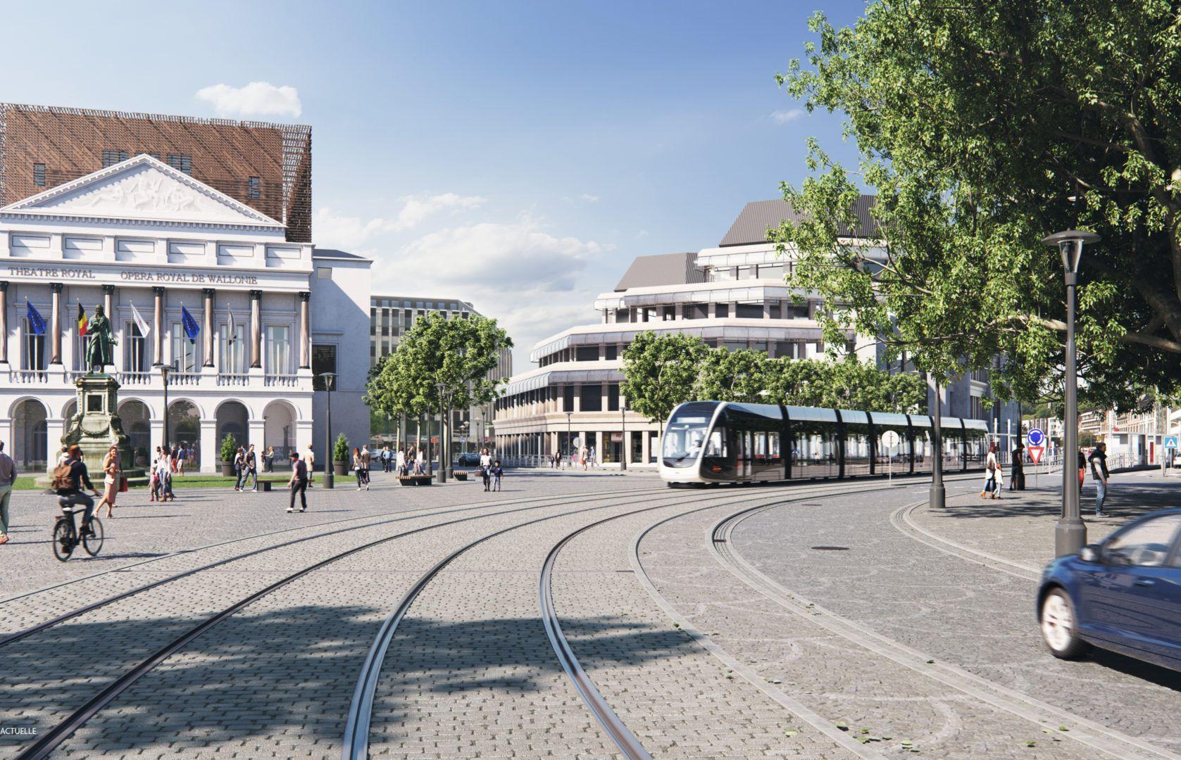 Le TEC et Tram'Ardent réorganisent les travaux pour que le tram roule comme prévu en mai 2023