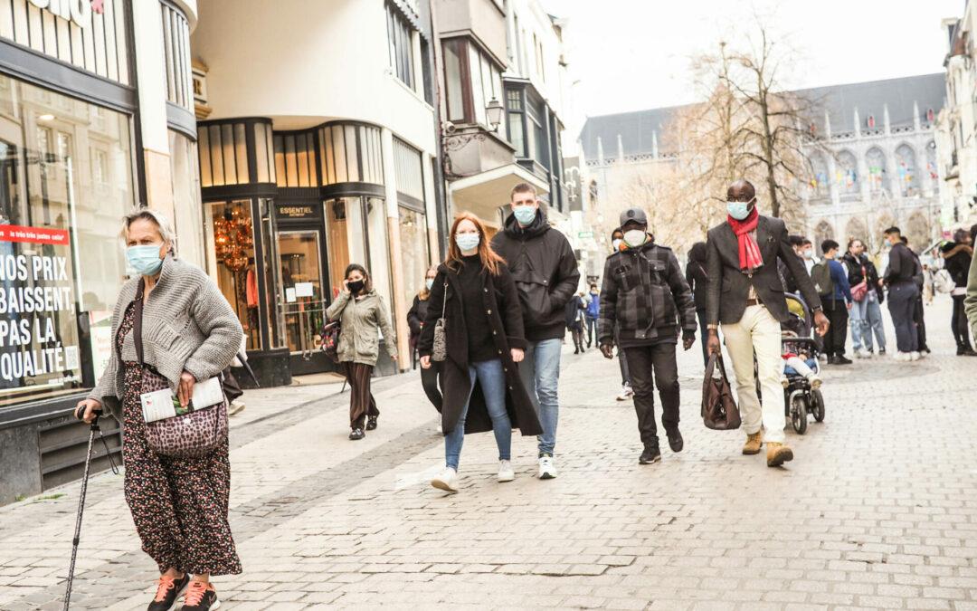 Les contaminations Covid augmentent à Liège aussi