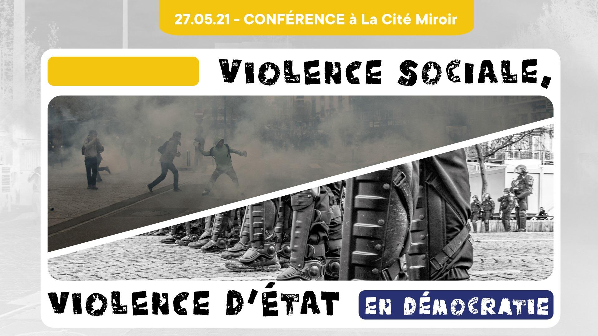 Violence sociale, violence d'État en démocratie