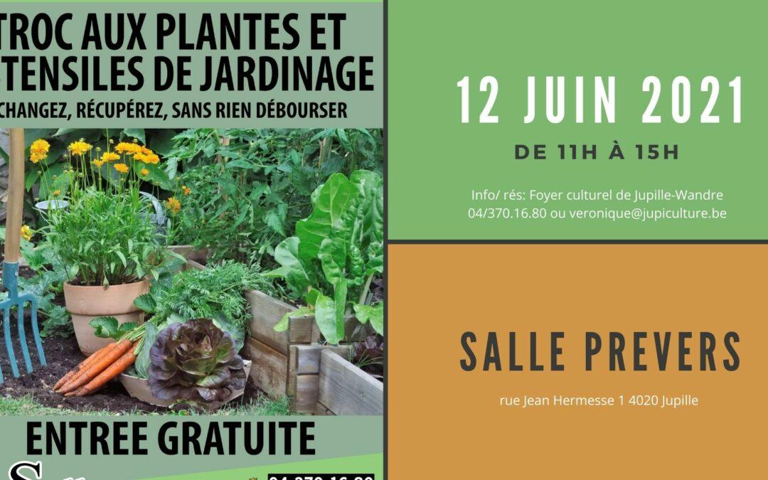 Agenda ► Troc aux plantes et matériel de jardinage