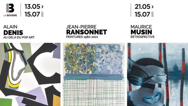 Agenda ► Visite thématique : Jean Pierre Ransonnet et Alain Denis
