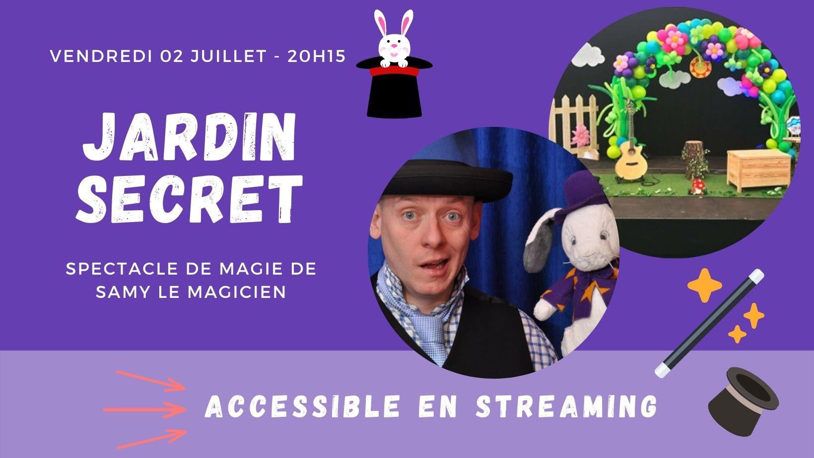 Jardin secret - Samy le magicien