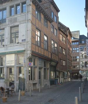 Liège, sanctuaire de demeures à pans de bois