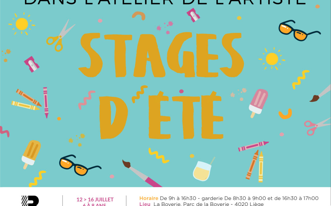 Agenda ► Stage pour enfants : Dans l'atelier de l'artiste