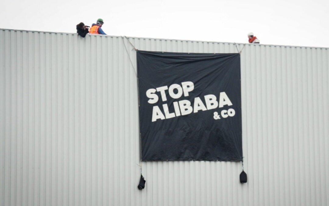 Stop Alibaba &co réclame un moratoire sur l'arrivée d'Alibaba à Liège