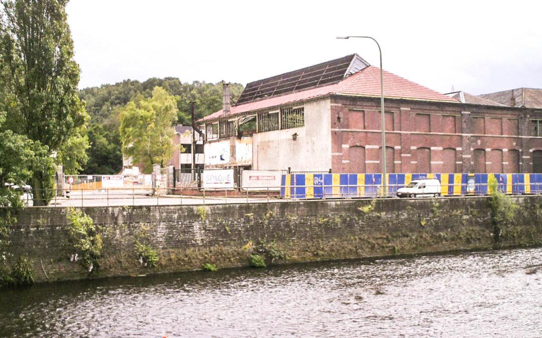 Nouveau chantier d'assainissement sur le site de l'ex-Cuivre et Zinc à Chênée pour créer une ZAE, un parc et de l'habitat