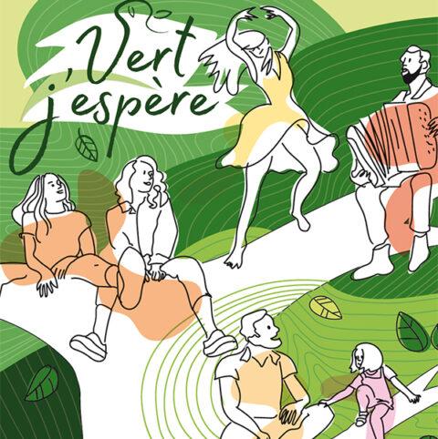 Vert J'espère. Circuit culturel et artistique à Sainte-Walburge