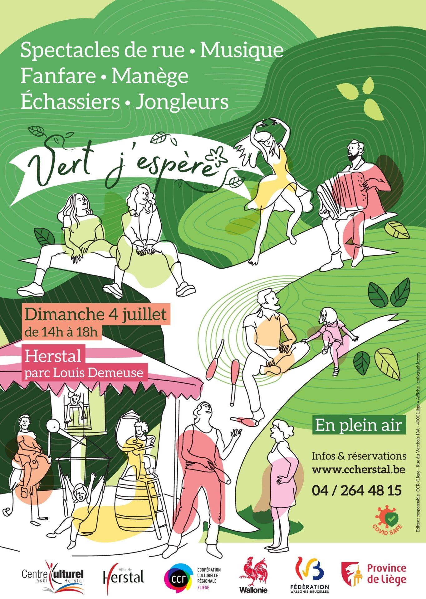 Vert J'espère - Spectacles de rue / Musique / Arts du cirque