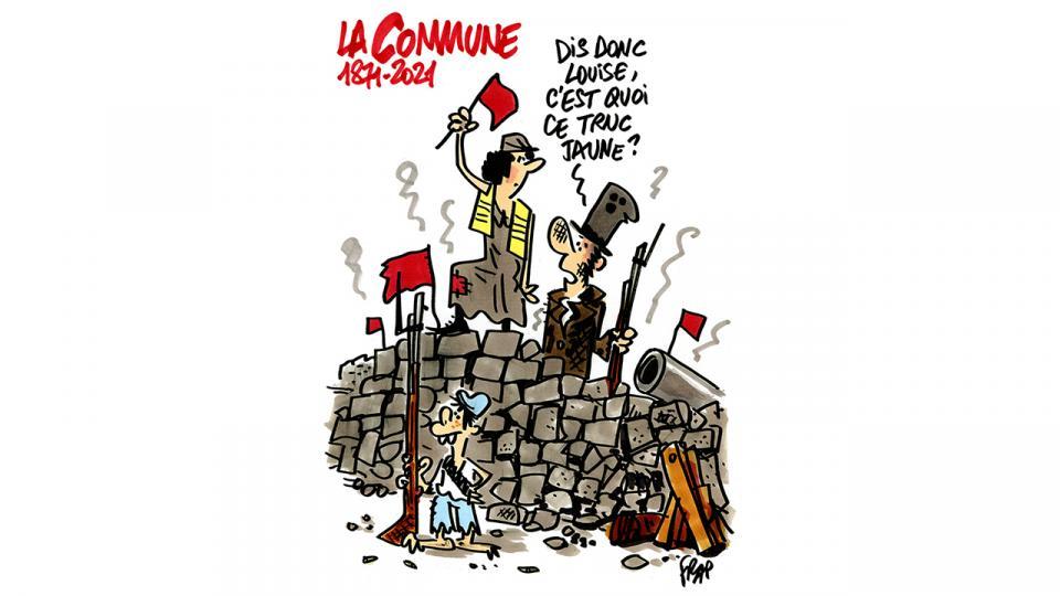 Agenda ► C'est la Commune ! Par C'est des Canailles ! Chants et récit historique sur les événements de 1871 à Paris