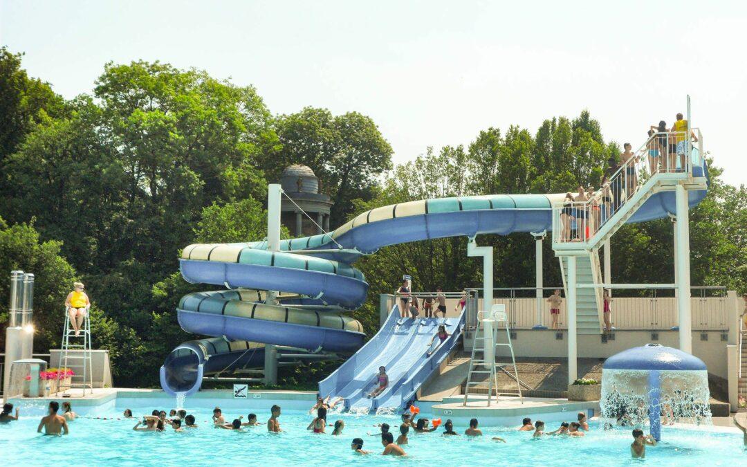 La piscine du Domaine de Wégimont accessible librement mais sur réservation