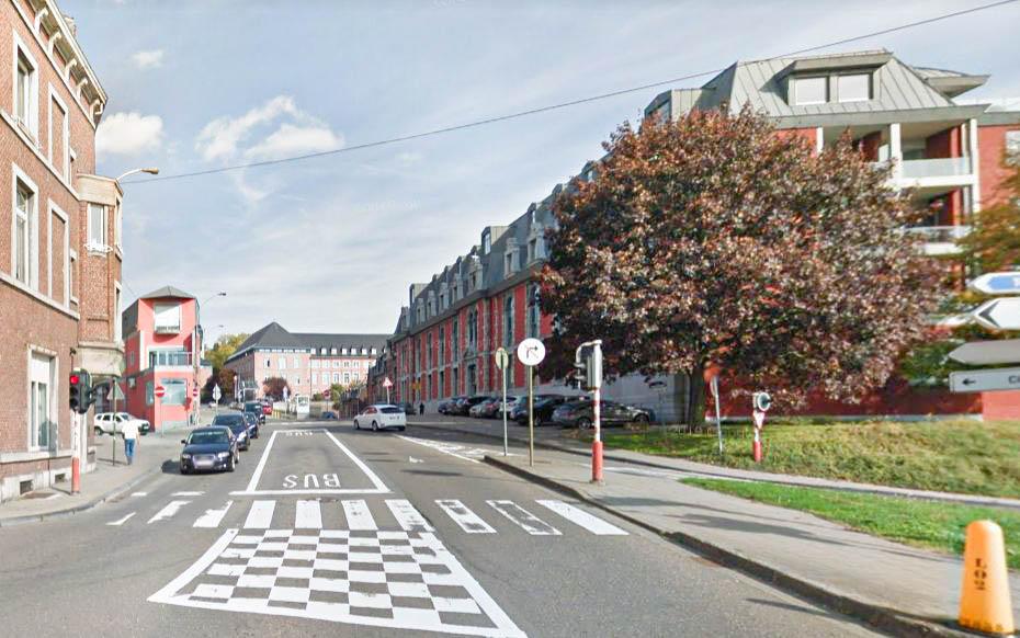 La rue Montagne Sainte-Walburge rouverte à la circulation pour 6 semaines