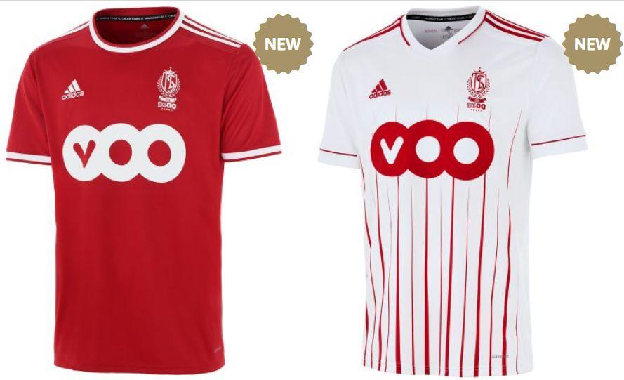 Nouvelles vareuses du Standard pour la saison 2021-2022.