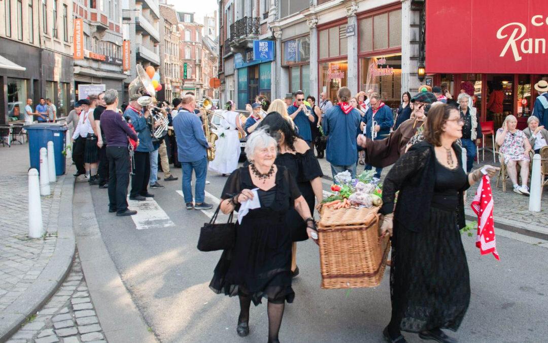 Fanfares, défilé de géants et enterrement de Mati L'ohê: les fêtes de Saint-Pholien commencent vendredi