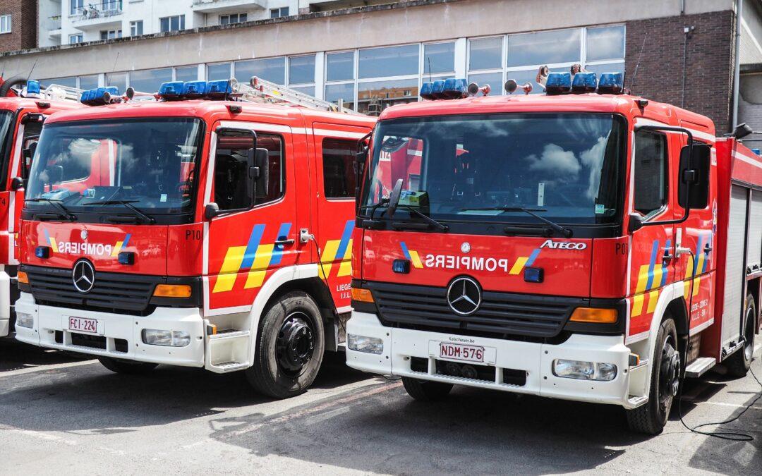 Les pompiers vont faire du bruit à 15h30