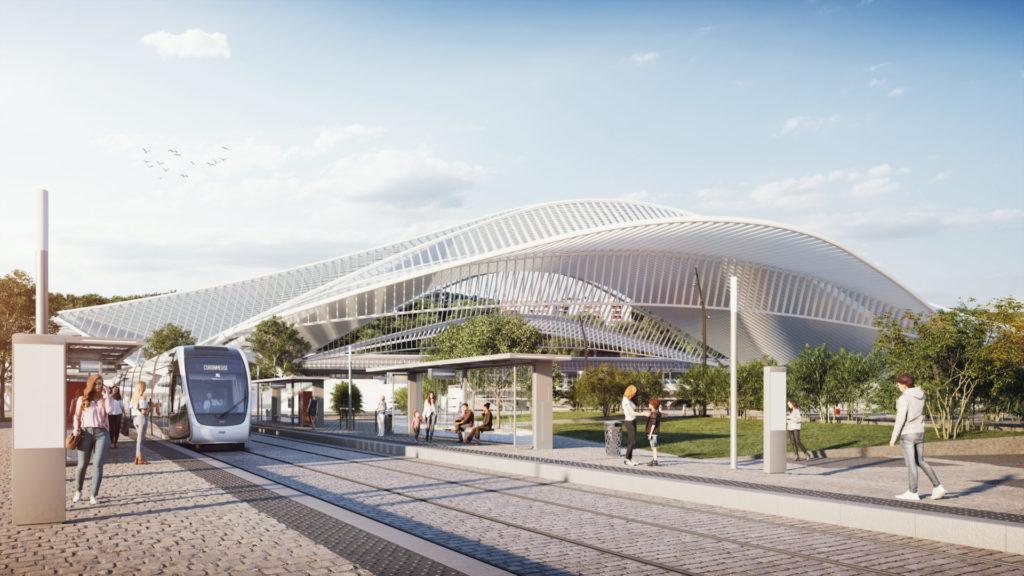 Voici à quoi ressembleront les stations de tram Gare des Guillemins, Pont Maghin, St Lambert et Liege Expo