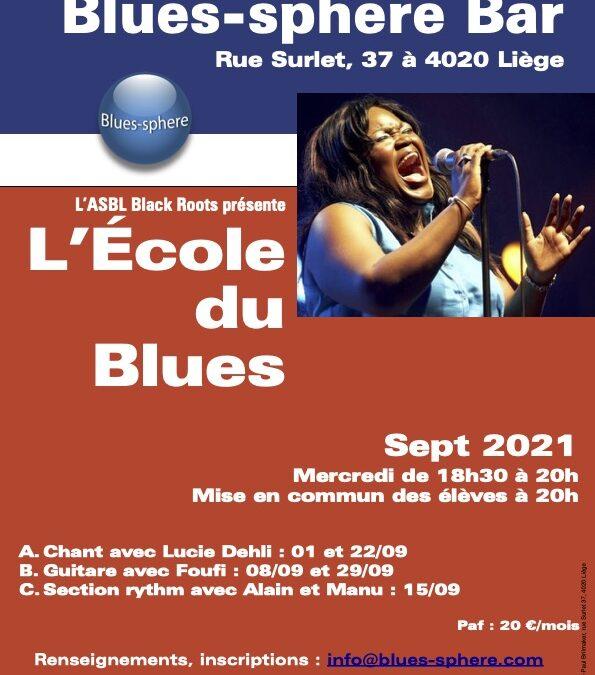 Agenda ► Ecole du blues