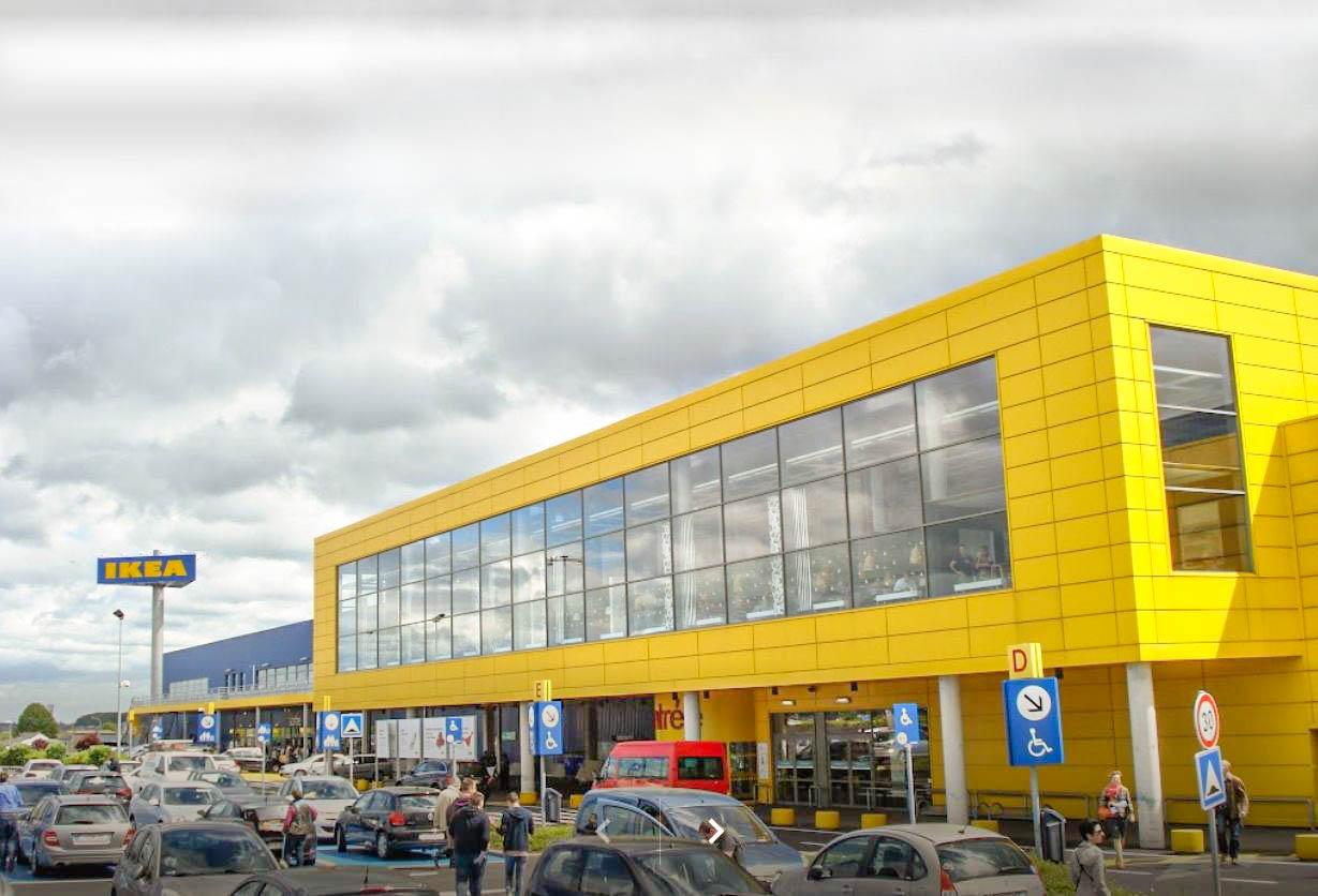 Difficultés d'approvisionnement chez Ikea: de nombreux rayons vides