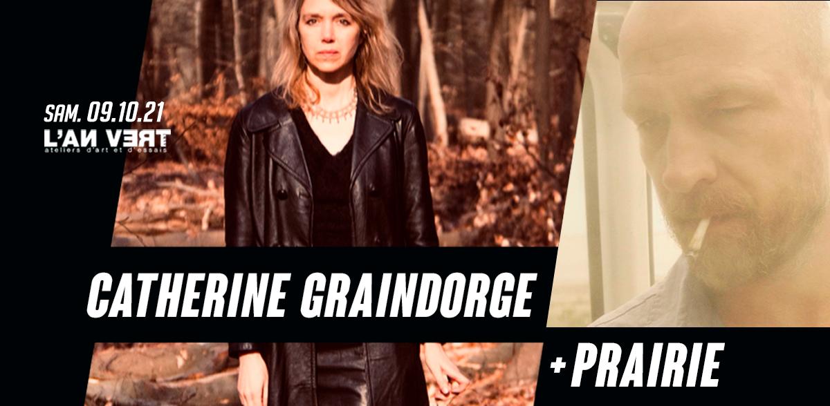 CATHERINE GRAINDORGE + PRAIRIE