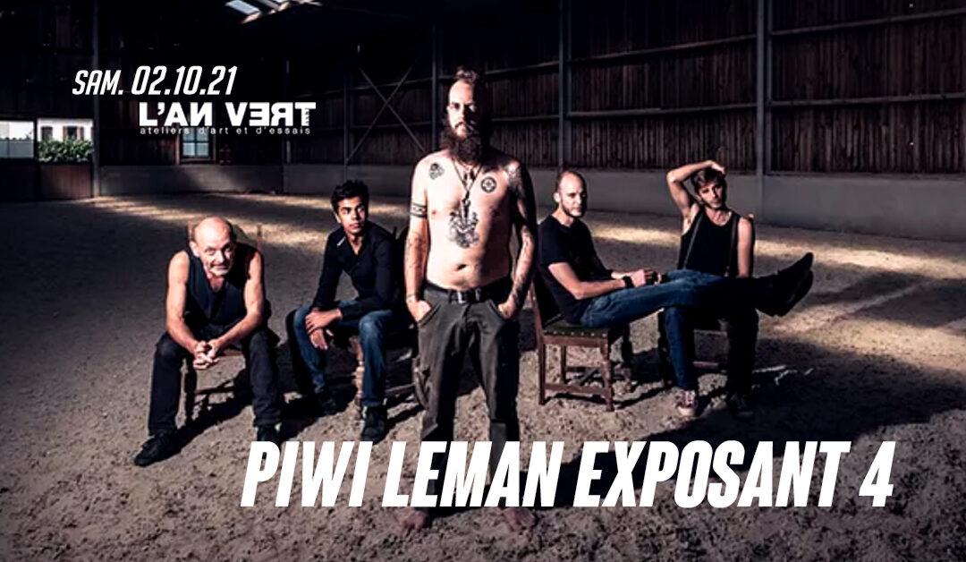 Agenda ► PIWI LEMAN EXPOSANT 4