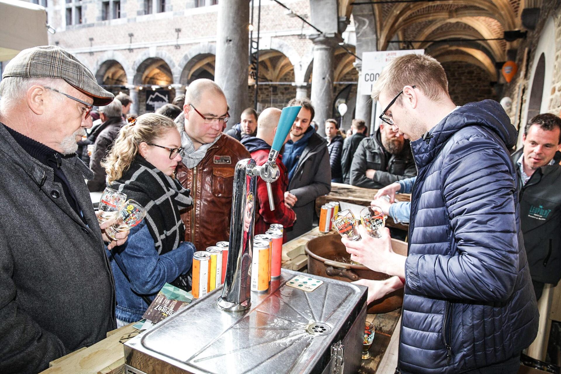 Retour de La Cité de la Bière du 24 au 26 septembre au musée de la vie wallonne