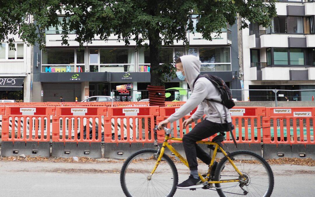 1,7 millions de subsides régionaux pour 13 projets communaux en faveur des cyclistes