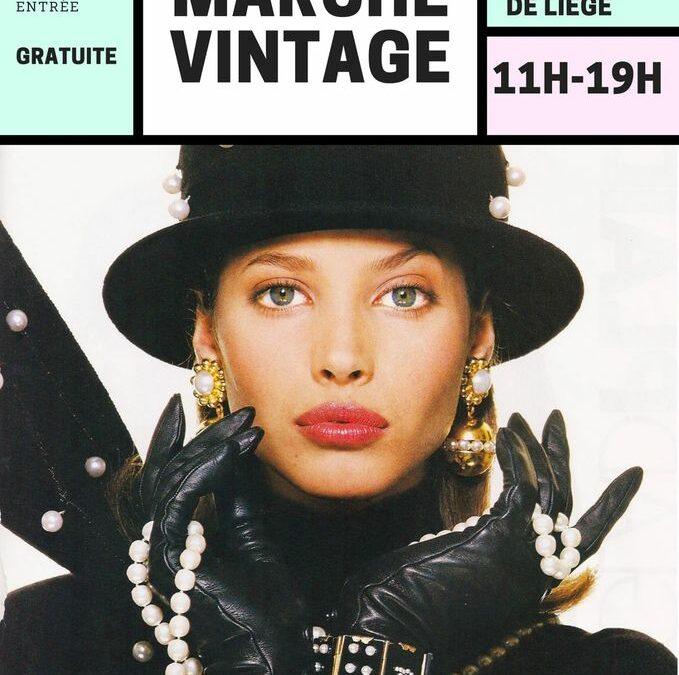 Agenda ► Liège Marché Vintage @ Union Nautique
