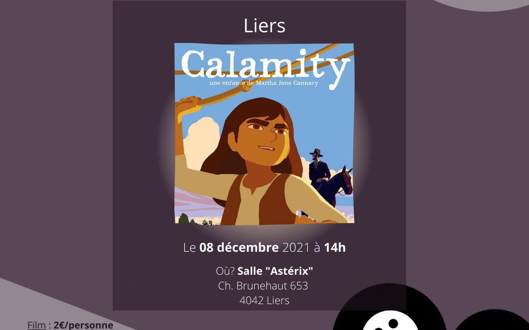 """Agenda ► Le Ciné d'à Côté à Liers : """"Calamity"""""""