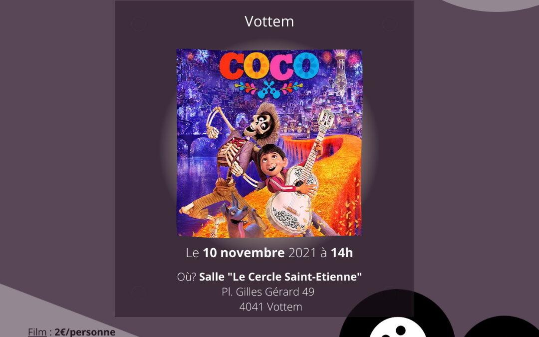 """Agenda ► Le Ciné d'à Côté à Vottem : """"Coco"""""""