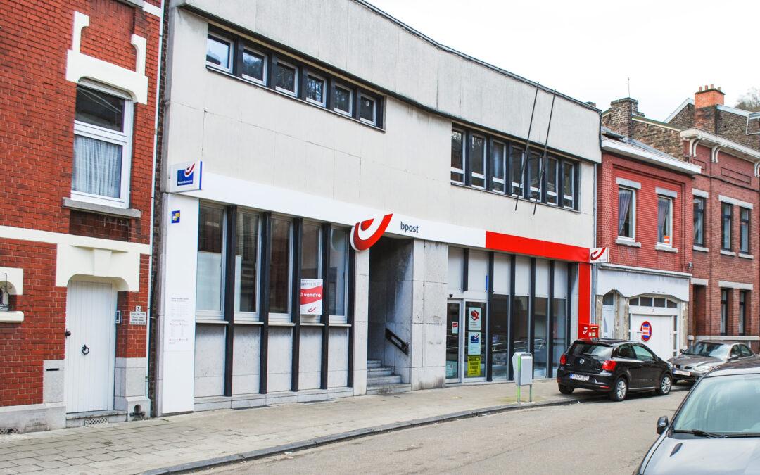 Rénovation complète du bureau de poste d'Angleur suite aux inondations