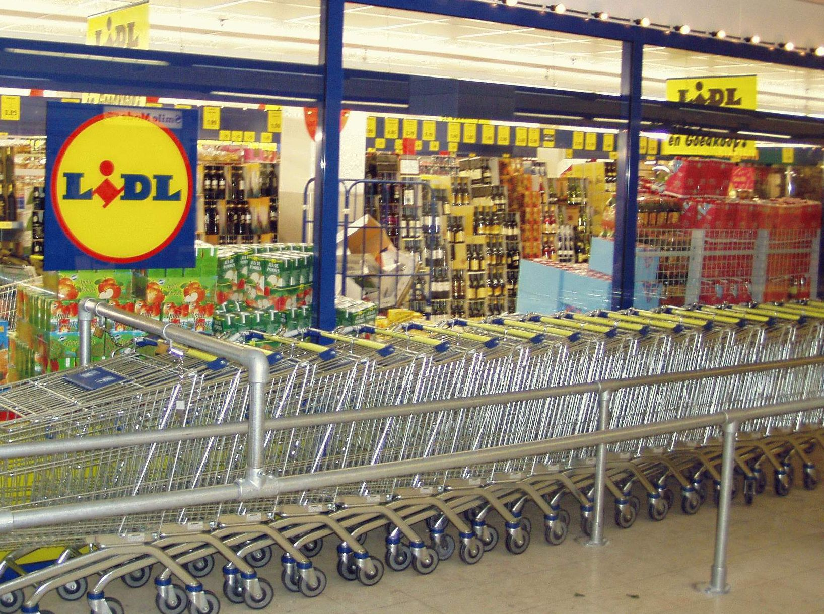 Grève: une quinzaine de magasins Lidl vont rester fermés en région liégeoise