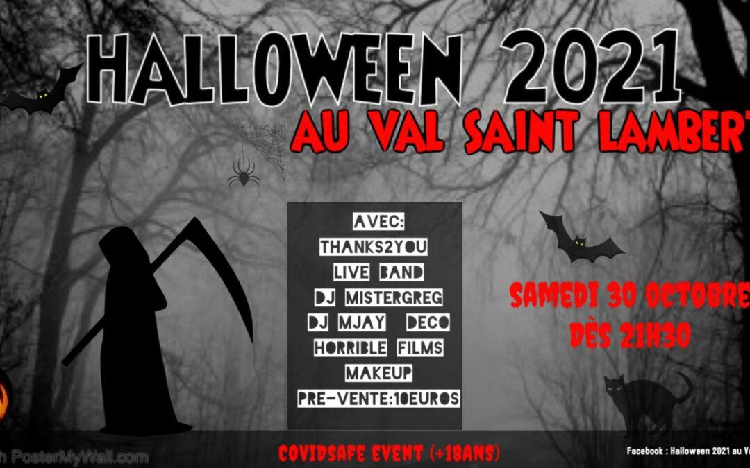Agenda ► Halloween 2021 au Val Saint Lambert