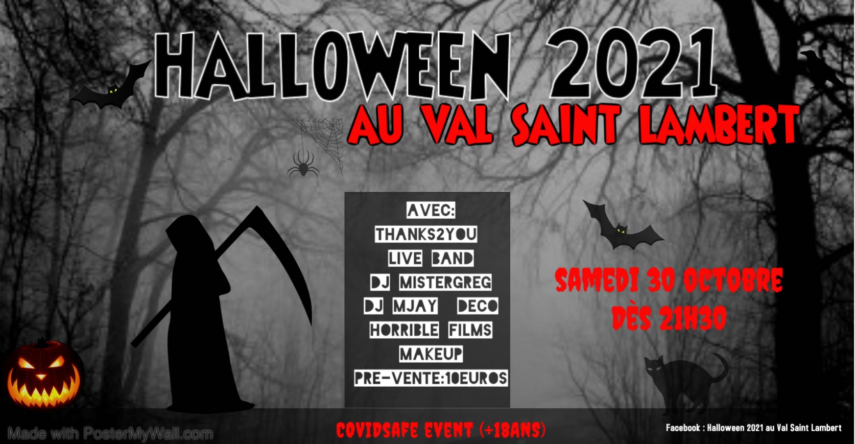 Halloween 2021 au Val Saint Lambert