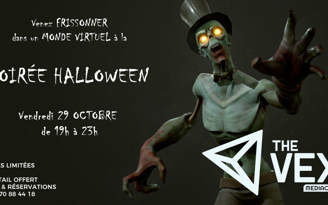 Agenda ► Soirée Halloween The VEX Médiacité
